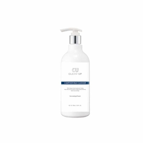 CU Clean-Up Camphor Milk Cleanser 500ml
