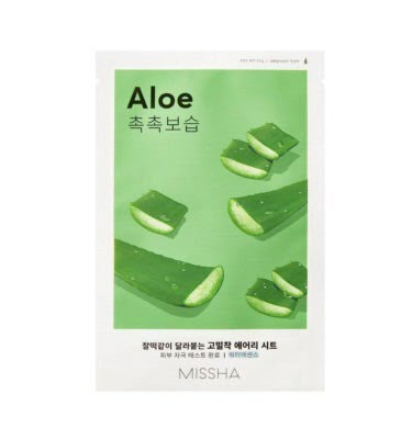 Missha Airy Fit Sheet Mask (Aloe) 19g