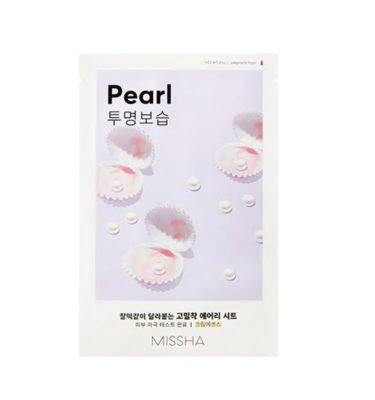 Missha Airy Fit Sheet Mask (Pearl) 19g