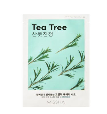 Missha Airy Fit Sheet Mask (Tea Tree) 19g