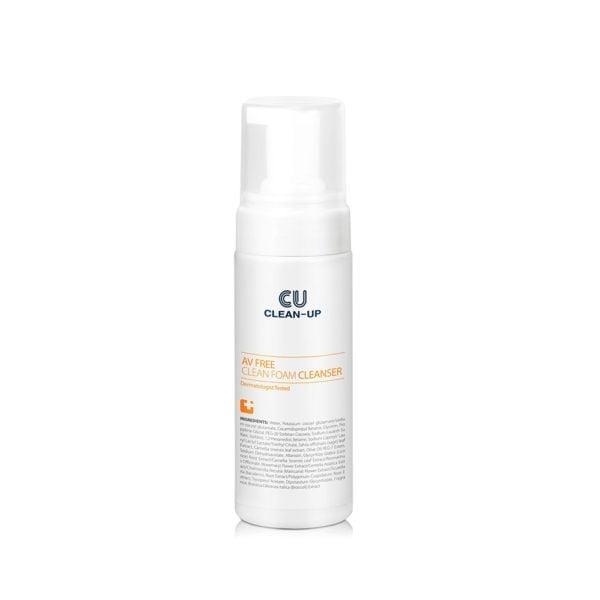 CU Clean-Up AV Free Clean Foam Cleanser 150ml