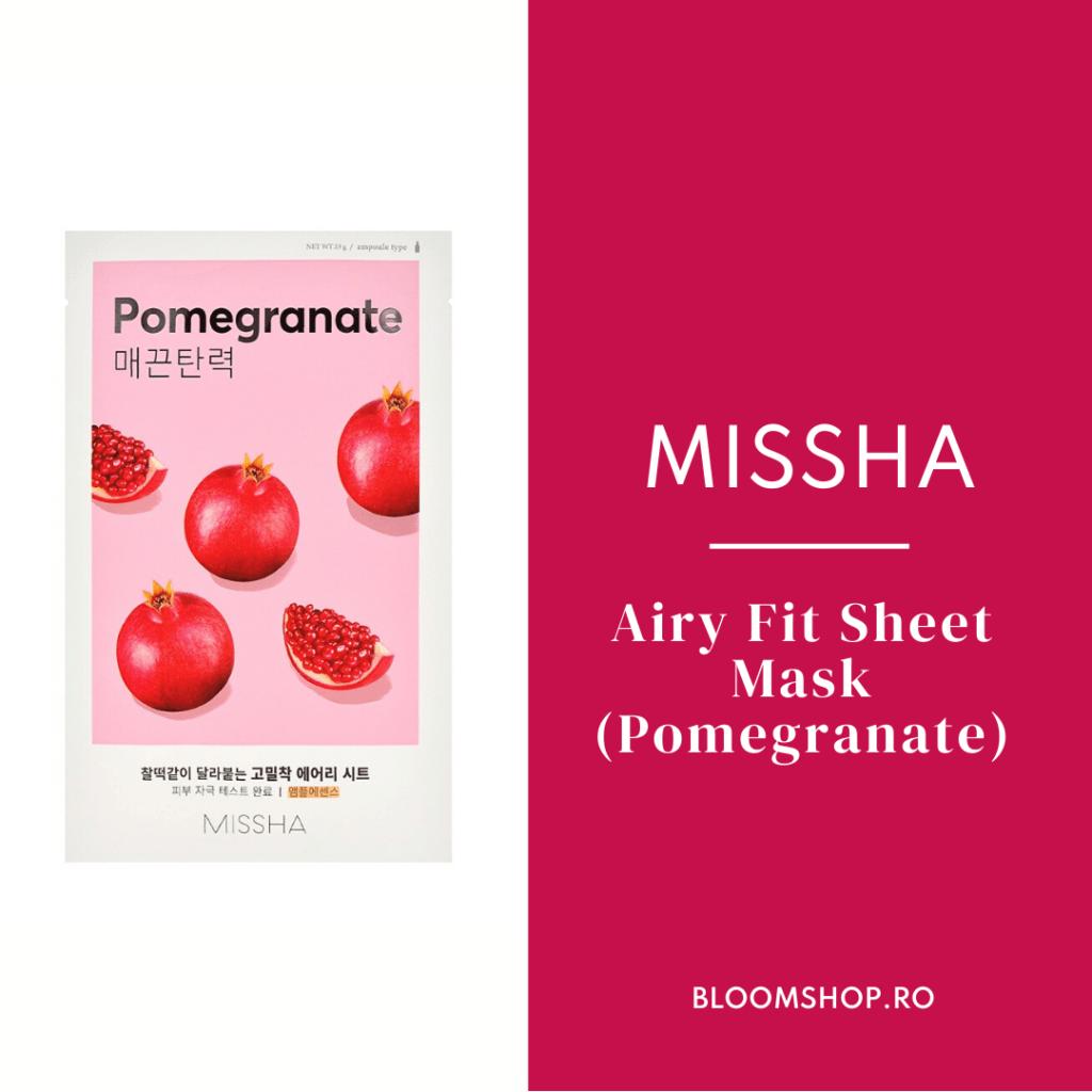5 produse cosmetice coreene revoluționare: MISSHA SHEET MASK