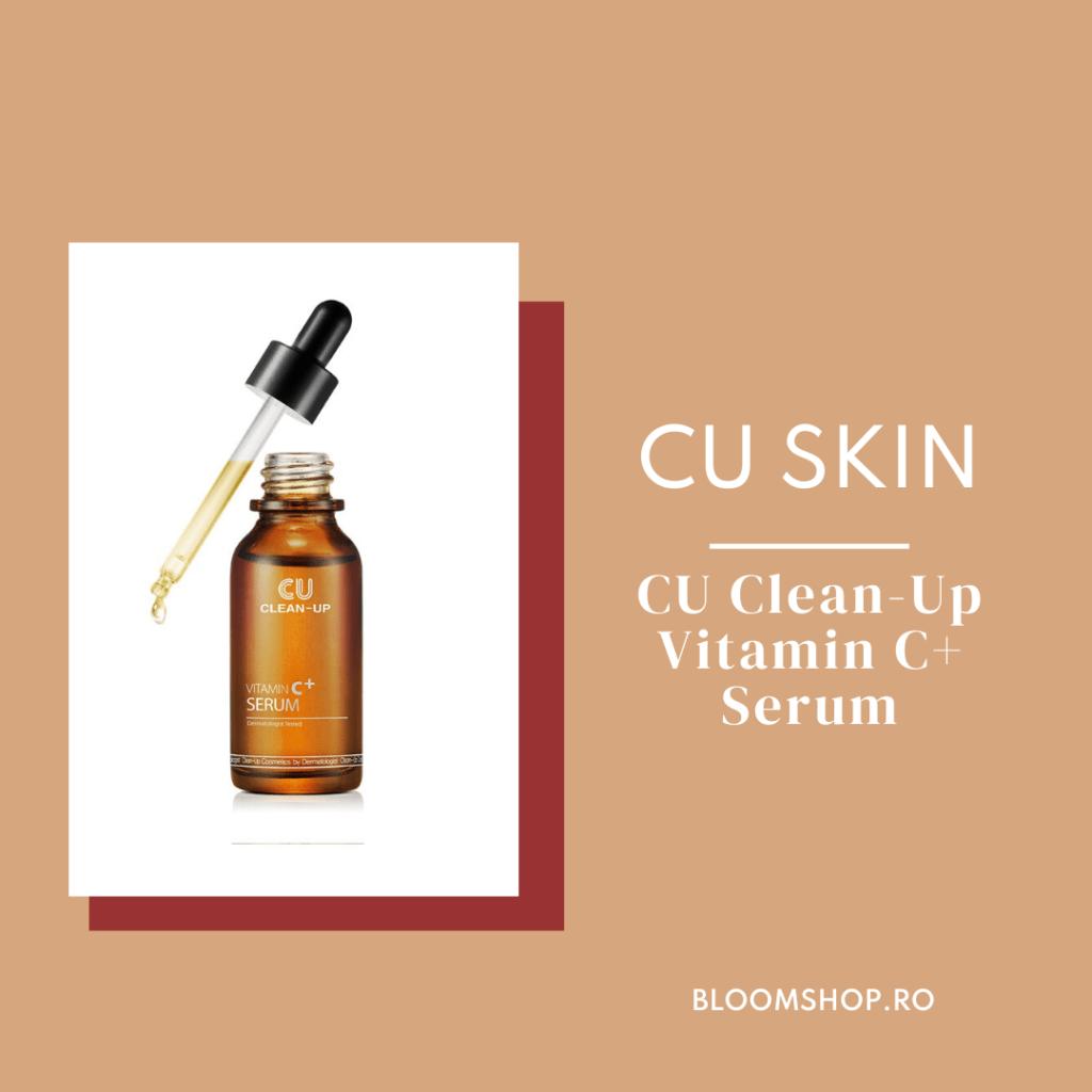 CU SKIN Clean-UP Vitamin C+ Serum