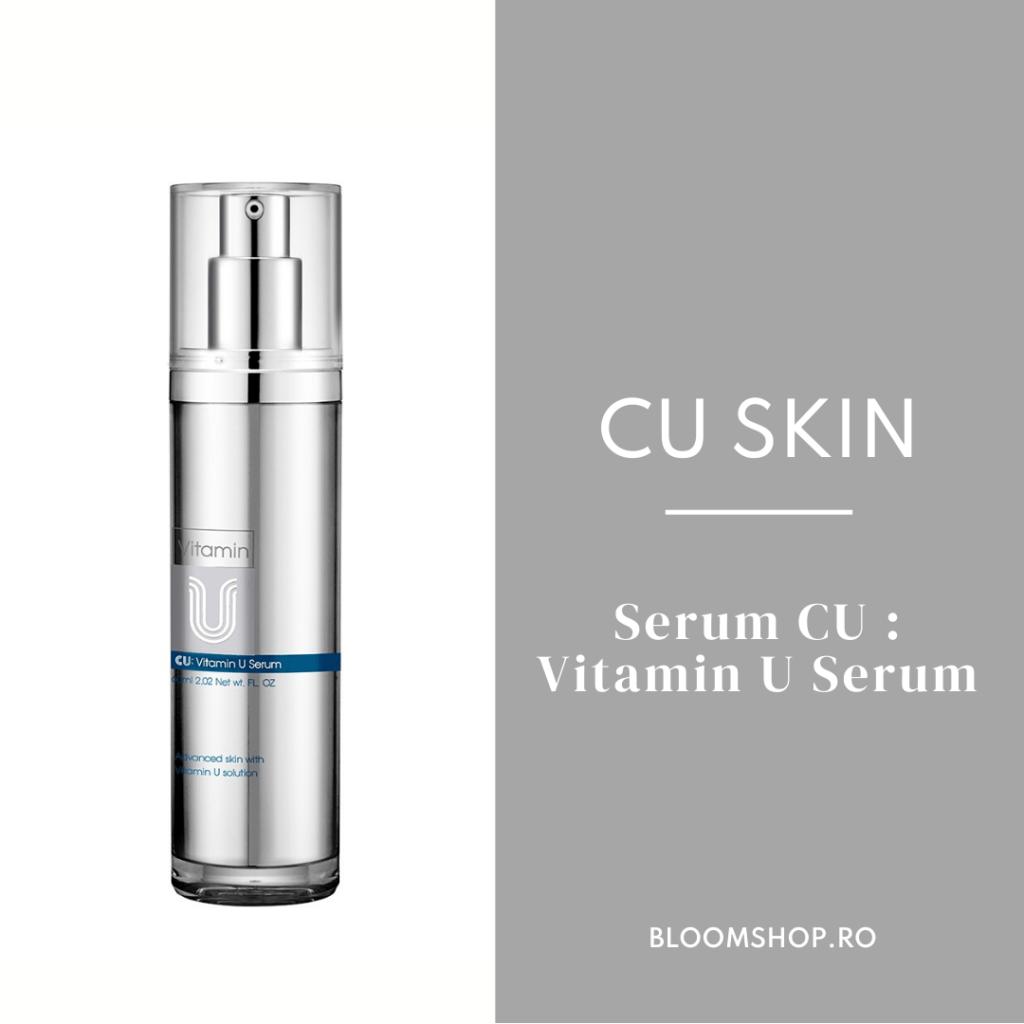 5 produse cosmetice coreene revoluționare: CU SKIN VITAMIN U SERUM
