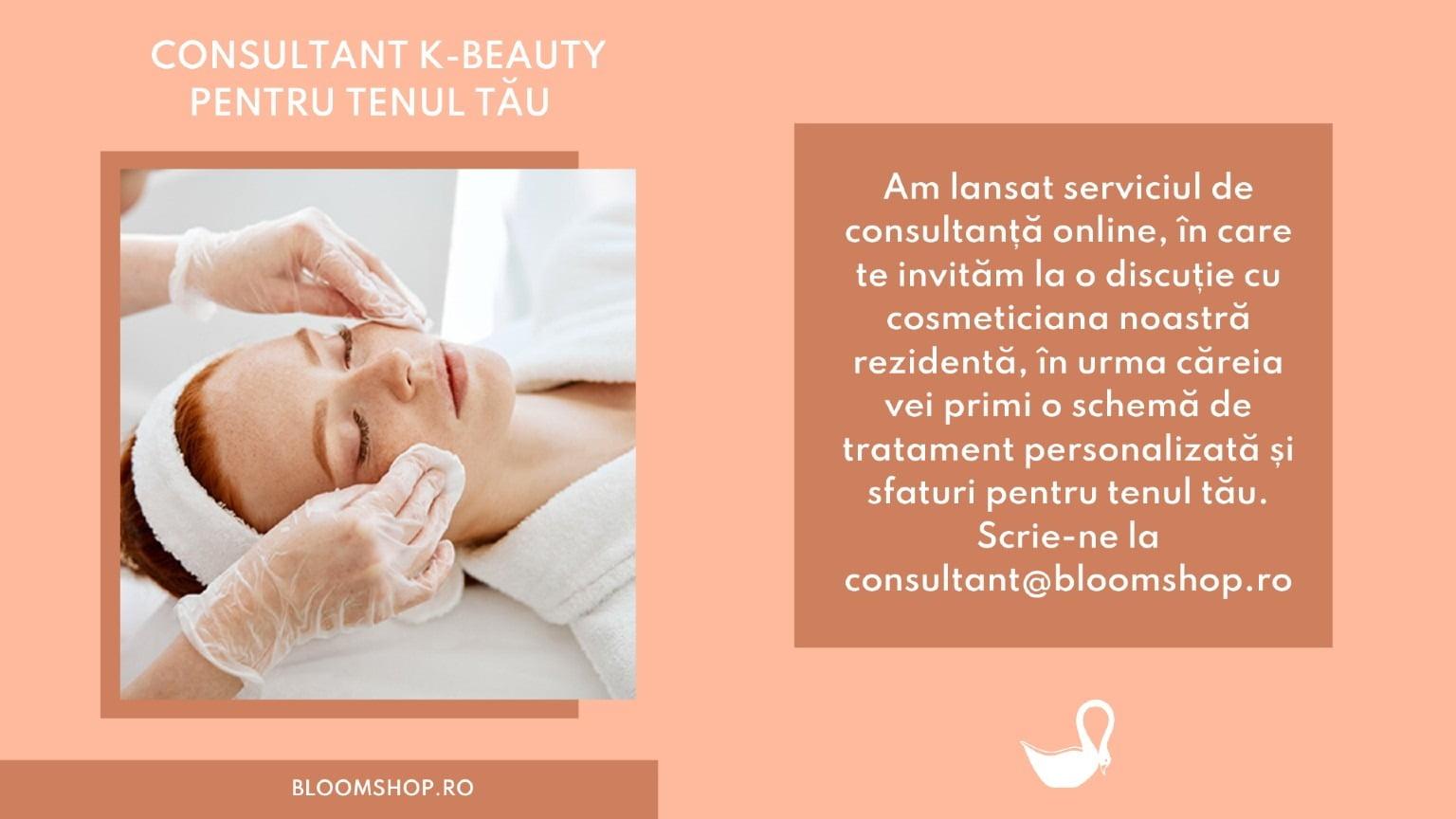 Consultanta cosmetica online