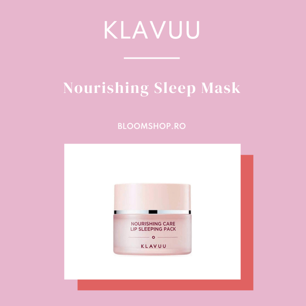 KLAVUU Nourishing Sleep Mask buze mai hidratate