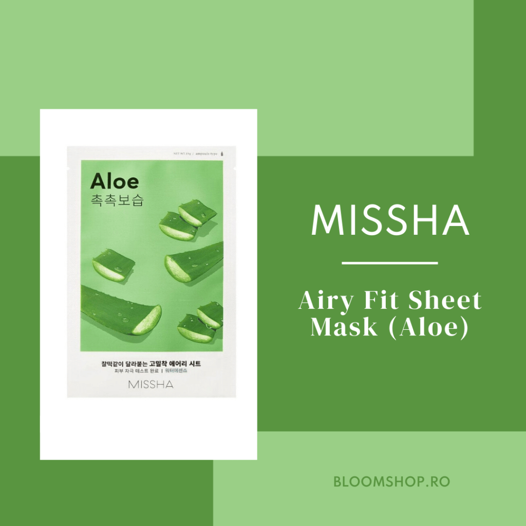 Missha Airy Fit Sheet Mark Aloe