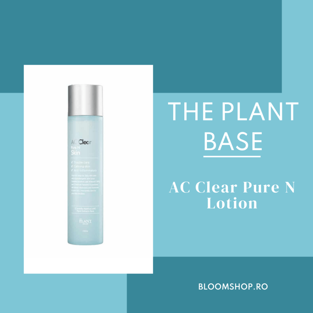 The Plant Base AC Clear Pure N Lotion