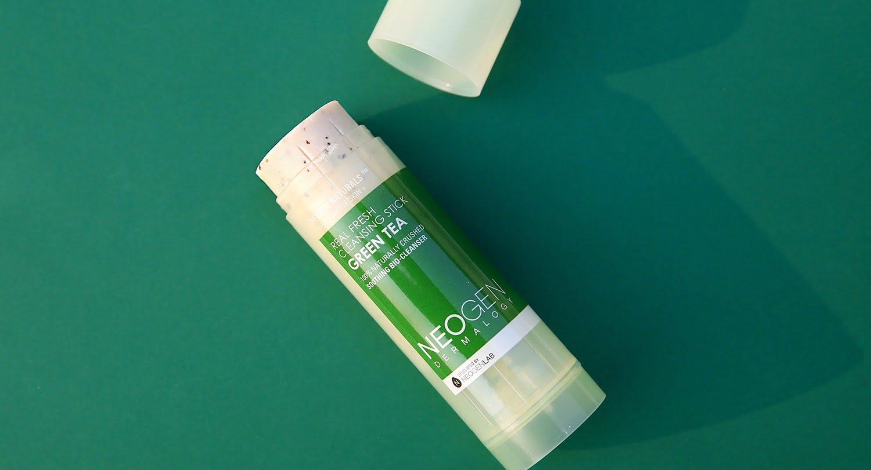 Dublă curățare cu Neogen Real Fresh Green Tea Cleansing Stick